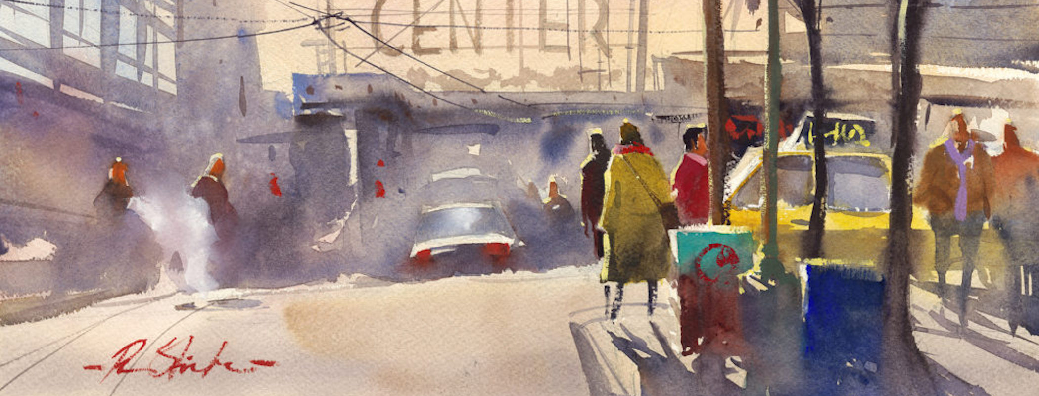 Ron Stocke Workshop - Bring Energy and Focus to your Watercolors!